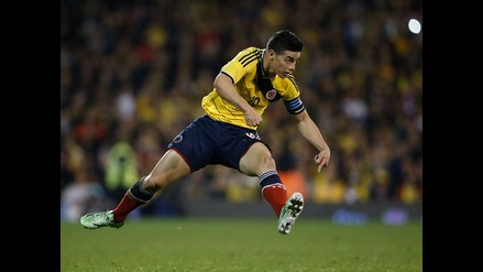 James Rodríguez, el capitán más joven de la historia de la Selección Colombia
