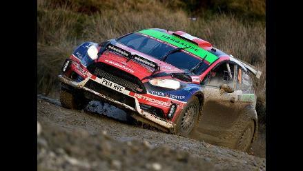 Nicolás Fuchs culminó la primera etapa del Rally de Gales