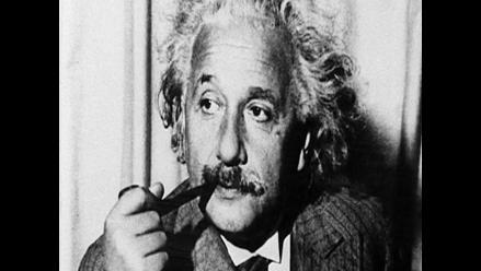 Descubren postal firmada por Einstein en 1922