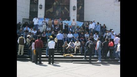 Arequipa: trabajadores del Poder Judicial acatarán paro de 48 horas