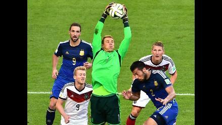 Alemania vs. España: Neuer será baja por molestias de rodilla