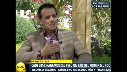 Alonso Segura: El Perú requiere el apoyo de todos los sectores para crecer el 2015