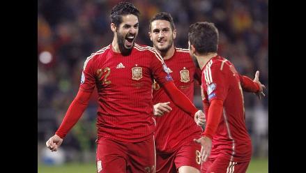 España goleó 3-0 a Bielorrusia de la mano de Isco rumbo a la Eurocopa 2016