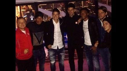 James Rodríguez y compañeros colombianos vibran en el Masters de Londres