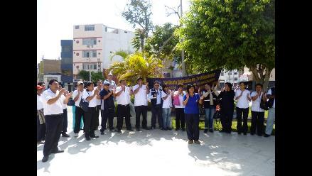 Chiclayo: administrativos y asistenciales de salud retoman labores