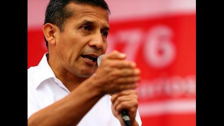 Ipsos: Popularidad del presidente Ollanta Humala bajó a 25%