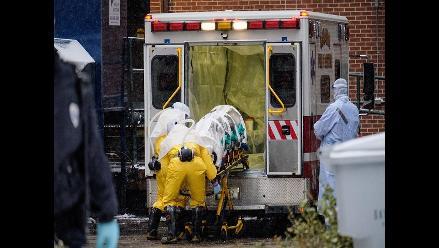 Médico de Sierra Leona con ébola trasladado a EEUU en estado crítico