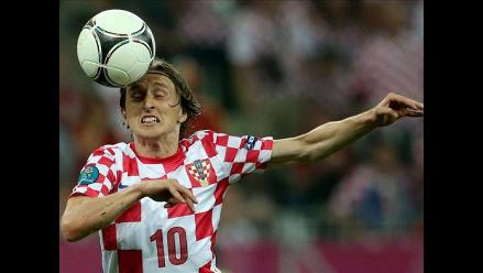 Atención Real Madrid: Modric se lesionó en empate entre Croacia vs. Italia