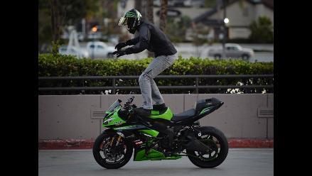 Estados Unidos: exhibición de motocicletas y demostraciones de estilo libre