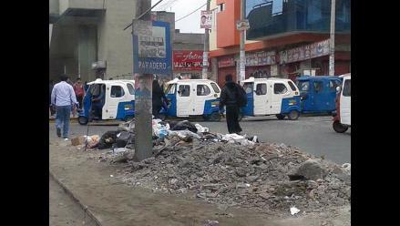 Basura abandonada en calles de Lima causa preocupación