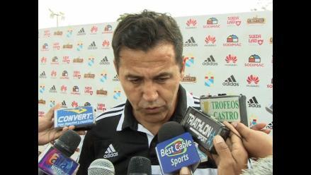 Daniel Ahmed: Por mi mente no pasa no ganarle a Alianza Lima