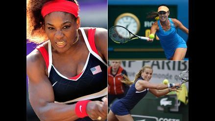 Serena Williams y el top 10 del ranking WTA en fotos