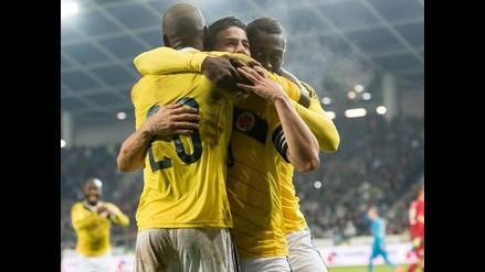 Colombia venció 1-0 a Eslovenia y cierra un año lleno de alegrías