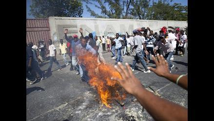 Un muerto tras manifestación en celebración de independencia de Haití