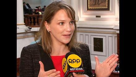 Fiscal de la Nación analiza la información financiera de Luciana León