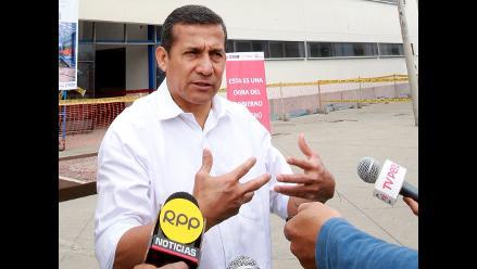 Humala: diferendo entre Chile y Bolivia en La Haya es asunto bilateral