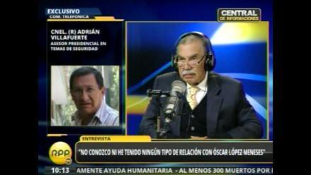 Adrián Villafuerte se presenta ante la Comisión López Meneses