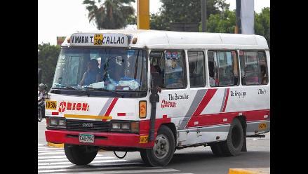 EL 80% de trabajadores son informales en el sector de transporte interurbano