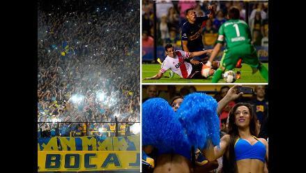 Boca Juniors vs. River Plate: Las imágenes del empate en la Bombonera