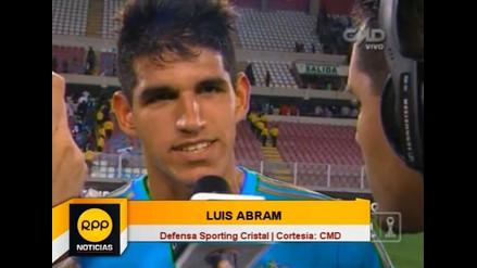 Luis Abram: Hice el gol de mi vida y anotar en un clásico es impresionante