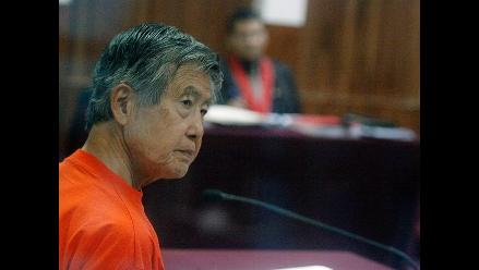 Rechazan pedido de arresto domiciliario de Alberto Fujimori