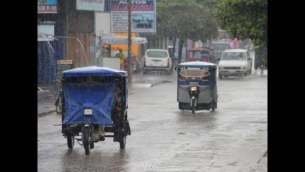 Pucallpa: fuertes lluvias por más de 10 horas causan aniegos en la ciudad