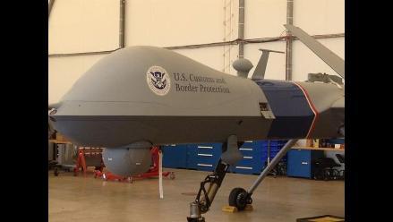 Estados Unidos patrulla su frontera con México con drones