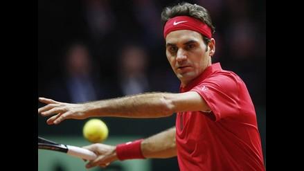 Gael Monfils venció a Roger Federer y emparejó la final de Copa Davis