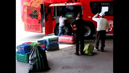 Huancayo: buses arriban con ocho horas de retraso tras bloqueo