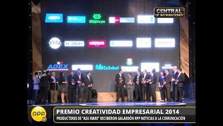 Wayra Perú ganó el máximo premio de Creatividad Empresarial 2014