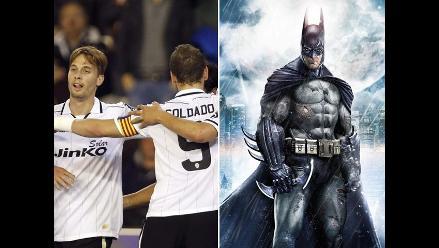 Batman querelló al Valencia por supuesto plagio del murciélago en su escudo