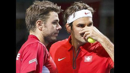 Copa Davis: Suiza alinea a Federer-Wawrinka en la final contra Francia