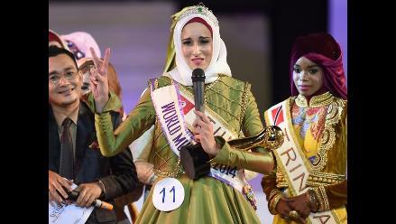 Mundo islámico consagró a su Miss Musulmana 2014