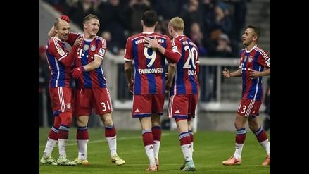 Bayern Munich goleó 4-0 al Hoffenheim con un brillante Mario Götze