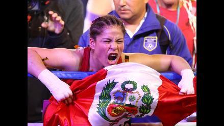 Linda Lecca retuvo título mundial AMB ante mexicana Maribel Ramírez