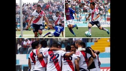 Deportivo Municipal y las imágenes de su triunfo ante A.Universidad