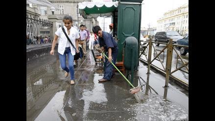 Senamhi: lluvias en Lima continuarán en los próximos días