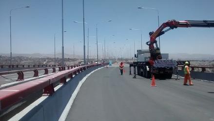 Arequipa: tres empresas de transporte urbano circularán por puente Chilina