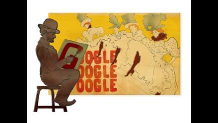 Google rinde homenaje a Henri de Toulouse Lautrec con doodle