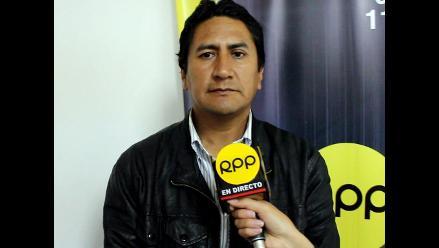 Junín: Vladimir Cerrón niega comunicación con Martín Belaunde