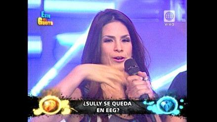EEG: Sully Sáenz regresó al equipo de Las Cobras