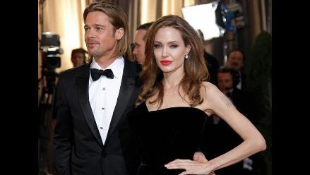 Captan fuerte pelea entre Angelina Jolie y Brad Pitt