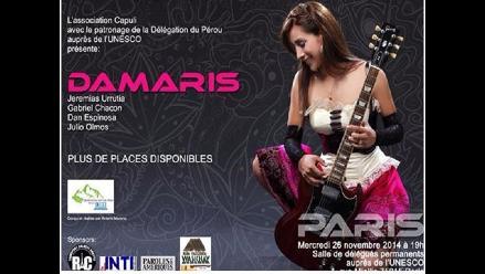 Damaris cantará en sede de la Unesco a la festividad de la Candelaria