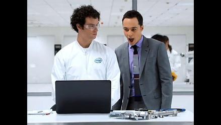 Sheldon Cooper se cuela en laboratorio secreto de Intel