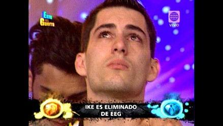 EEG: Ike Parodi resultó ser el primer eliminado del reality