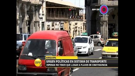 El transporte produce el 76 % del aire contaminado en Arequipa