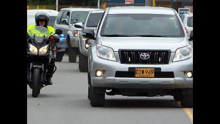 Llegan a Bogotá los dos soldados liberados por las FARC