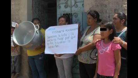Chiclayo: fiscal deriva a la vía penal caso del Vaso de Leche