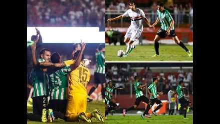 Copa Sudamericana: Las imágenes de la clasificación de Atlético Nacional