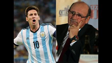 Markaríán explicó cómo anuló a Messi en el Perú vs. Argentina